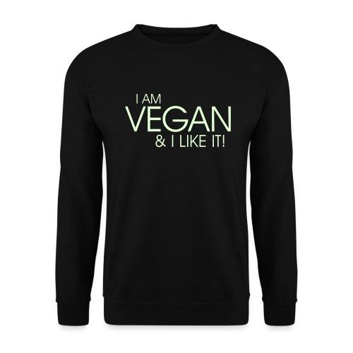 I am vegan and I like it - Unisex Pullover