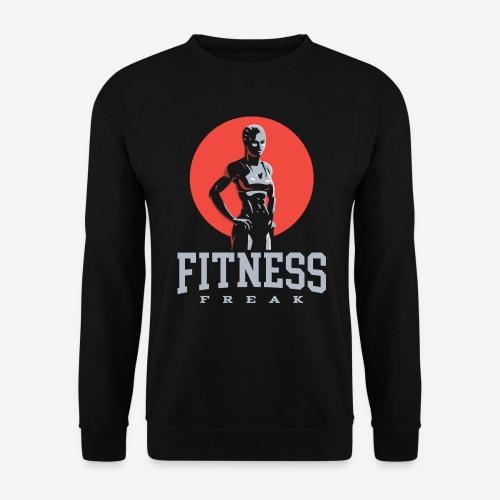 fitness freak gym - Unisex Pullover