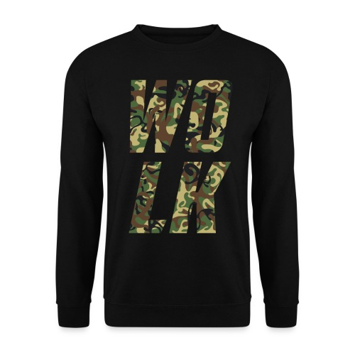 Camo Logo Digital Direct Patterns - Unisex sweater