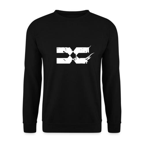 Logo Blanc Clothing png - Sweat-shirt Unisexe