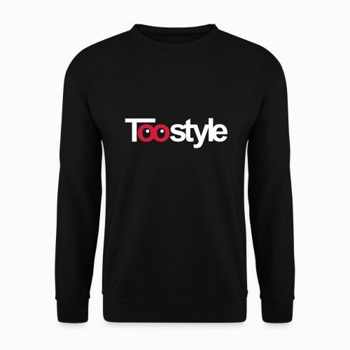 Toostyle white - Felpa unisex