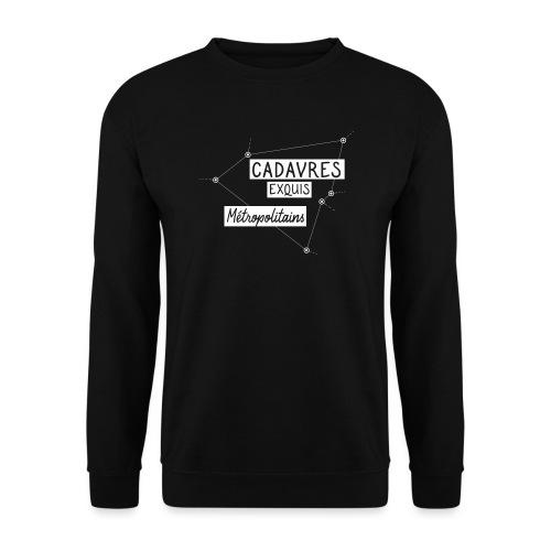 Cadavres Exquis Métropolitains - Sweat-shirt Unisexe