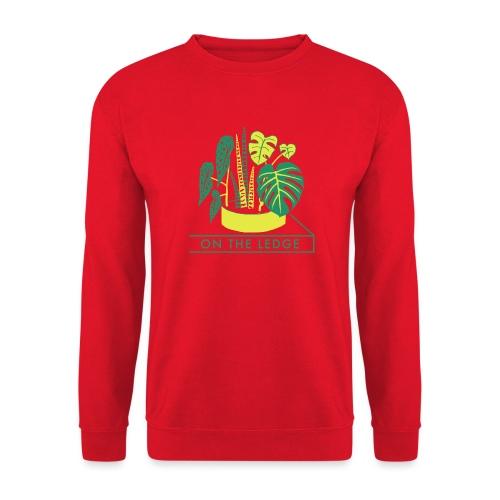 On The Ledge green logo print - Unisex Sweatshirt