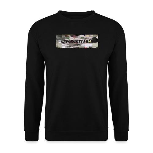 unforgettable - Sweat-shirt Unisexe