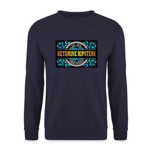Black Vintage - KETAMINE HIPSTERS Apparel - Unisex Sweatshirt
