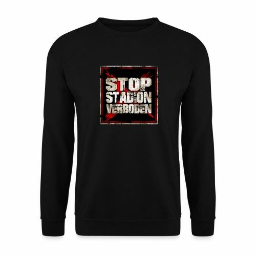 Stop stadionverboden - Sweat-shirt Unisexe