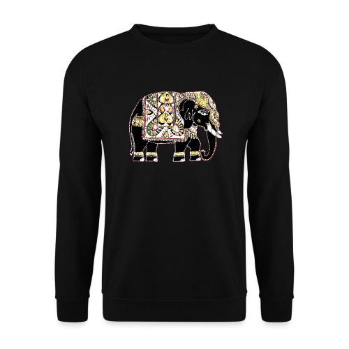 Indian elephant for luck - Unisex Sweatshirt