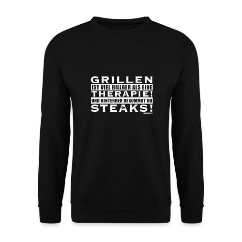 Grillen - Therapie - Steaks - Unisex Pullover