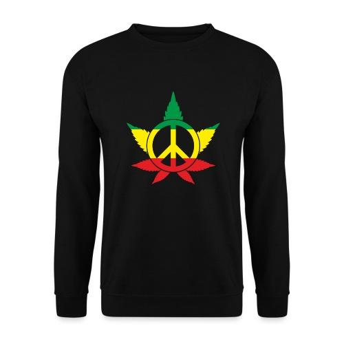 Peace färbig - Unisex Pullover
