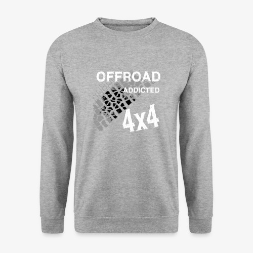 Defender Land-Rover OFF Road White - Unisex Pullover