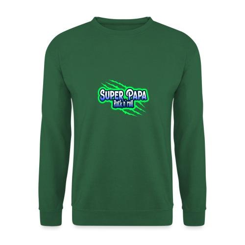 super papa rock'n' roll - Sweat-shirt Unisexe