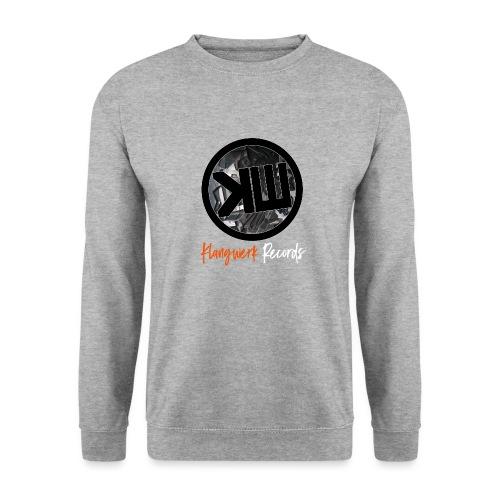 white logo tshirt - Unisex Sweatshirt