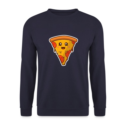 pizaa funny - Sudadera unisex