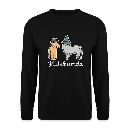 Hütehunde Hunde mit Hut Huetehund - Unisex Pullover