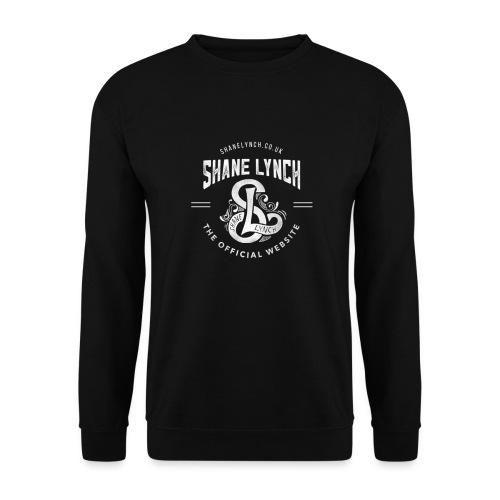 White - Shane Lynch Logo - Unisex Sweatshirt