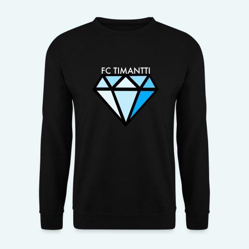 FCTimantti logo valkteksti futura - Unisex svetaripaita