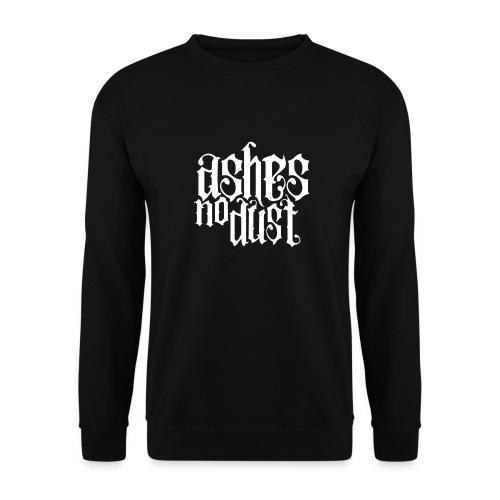 White logo Ashes No Dust - Sweat-shirt Unisexe