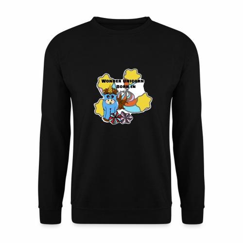 Une merveilleuse licorne est née (pour garcon) - Sweat-shirt Unisexe