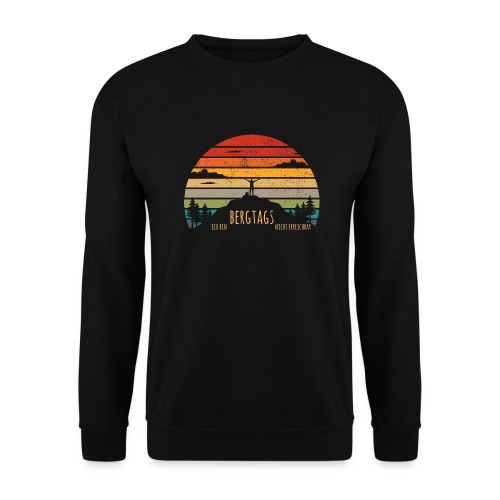 lustige Wanderer Sprüche Shirt Geschenk Retro - Unisex Pullover