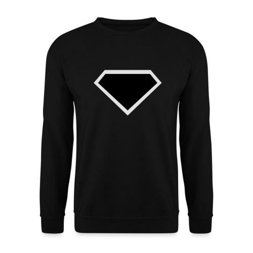Diamond Black - Two colors customizable - Unisex sweater