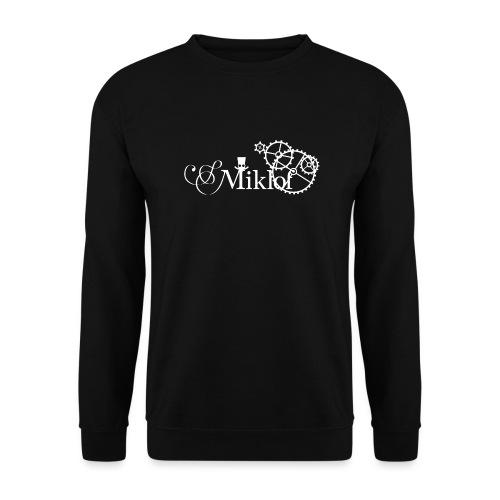 miklof logo white 3000px - Unisex Sweatshirt