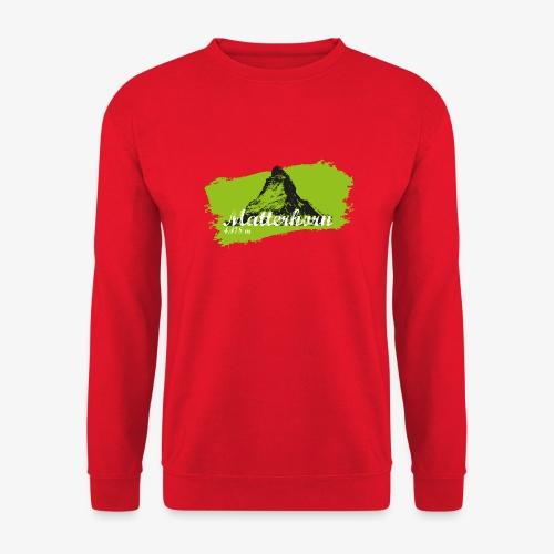 Matterhorn - Matterhorn in green - Unisex Sweatshirt