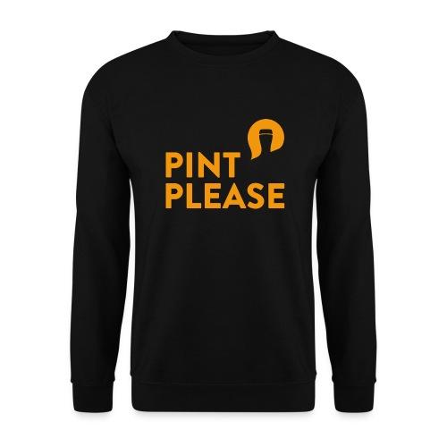 Pint Please logo - Orange - Unisex Sweatshirt