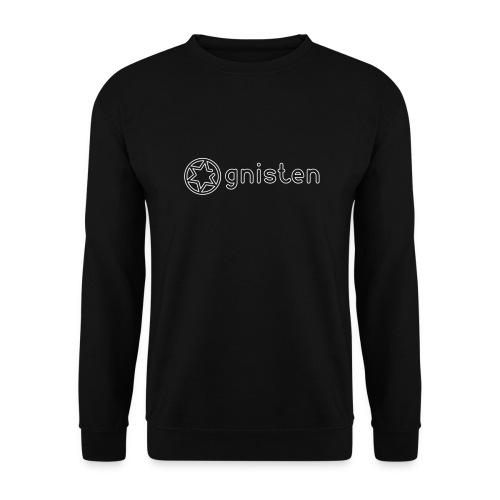 Gnisten Ry (hvidt tryk - horisontalt) - Unisex sweater