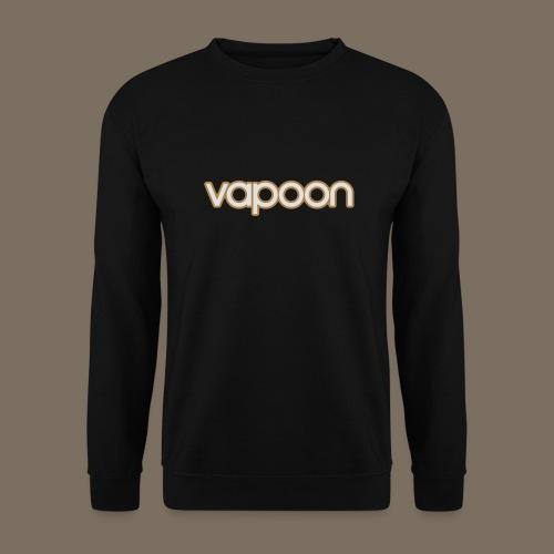 Vapoon Logo simpel 2 Farb - Unisex Pullover