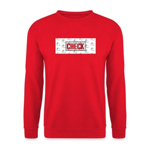 CHECK - Sweat-shirt Unisexe