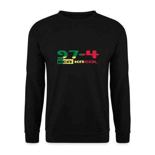 Logo 974 ker kreol VJR, rastafari - Sweat-shirt Unisexe