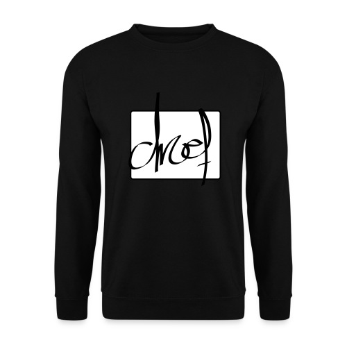 Droef.Gent logo zwart - Unisex sweater