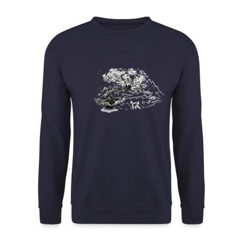 TempleKARATE TRANSP GIF - Sweat-shirt Unisexe