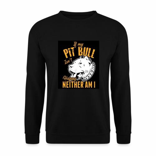 Pitbull my best friend - Sweat-shirt Unisexe