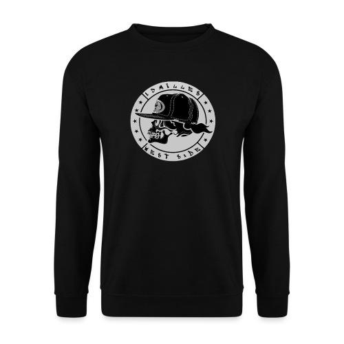 skull 13 milles noir et gris super design - Sweat-shirt Unisexe