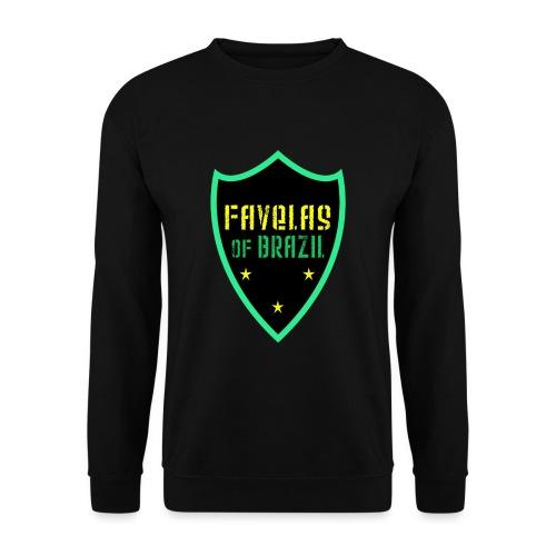 FAVELAS OF BRAZIL NOIR VERT DESIGN - Sweat-shirt Unisexe