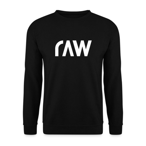 raw.lighting solid white - Unisex Pullover