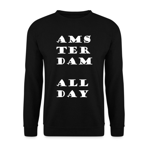 amsterdam all day - Unisex sweater