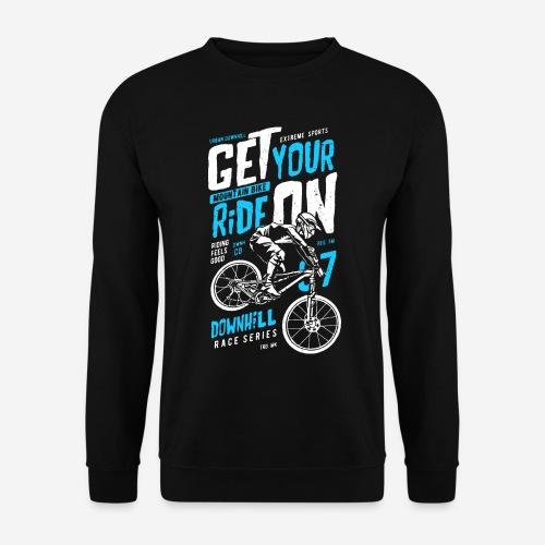 Radfahrer Biker - Unisex Pullover