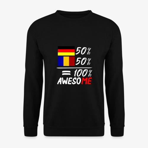 50% Deutsch 50% Rumänisch - Unisex Pullover