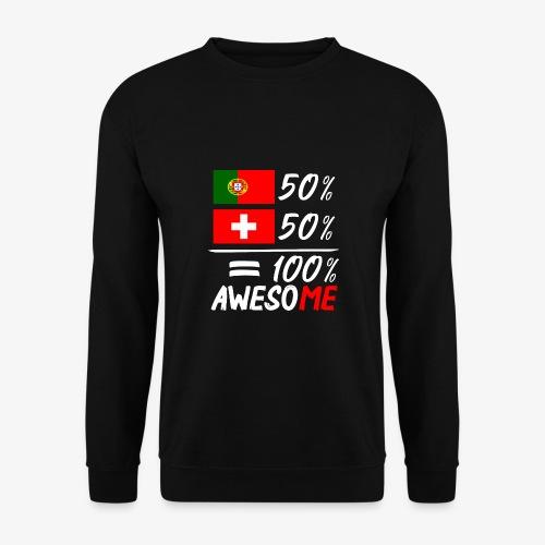 50% Portugal 50% Schweiz - Unisex Pullover