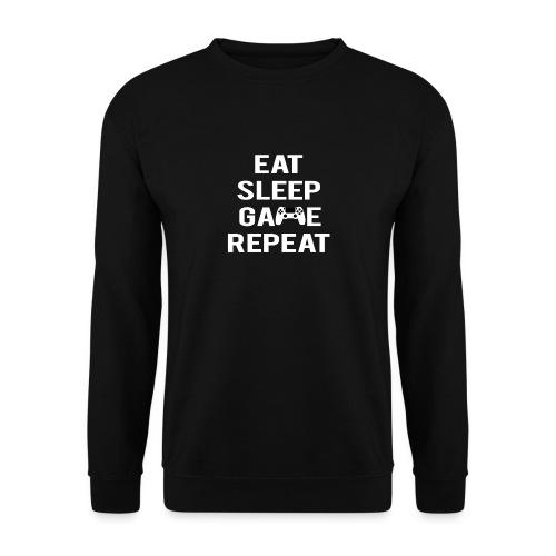 Eat, sleep, game, REPEAT - Unisex Sweatshirt