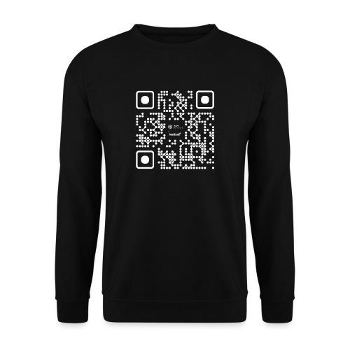 QR - Maidsafe.net White - Unisex Sweatshirt