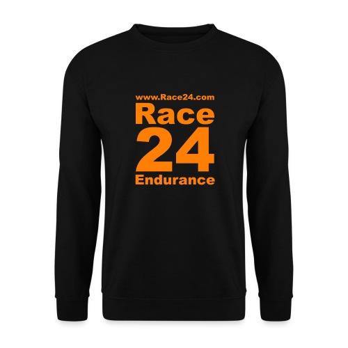Race24 Logo in Orange - Unisex Sweatshirt
