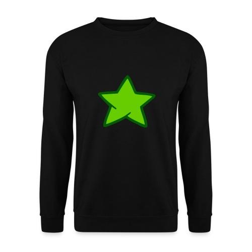 Estrella verde - Sudadera unisex