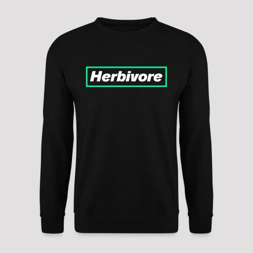 Herbivore Logo White - Felpa unisex