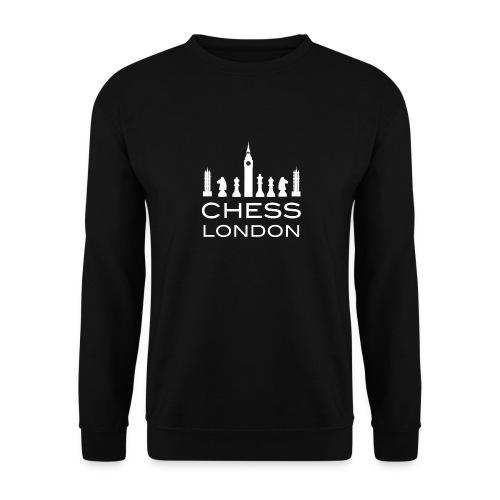 Schach London Weltmeister Schachfigur Geschenk - Unisex Pullover