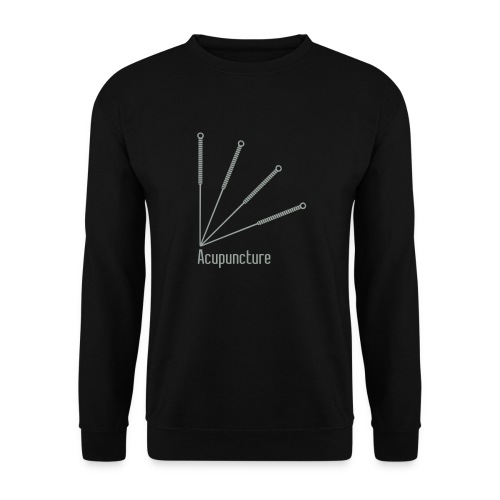 Acupuncture Eventail vect - Sweat-shirt Unisexe