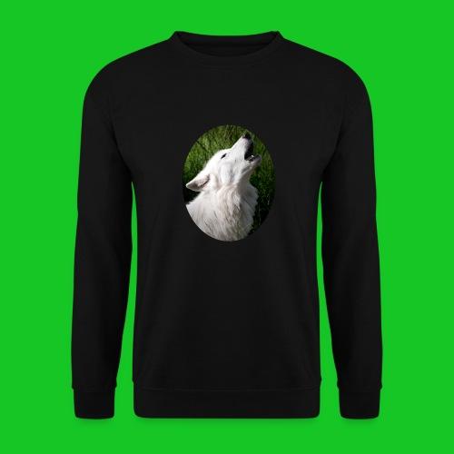 Witte wolf - Unisex sweater