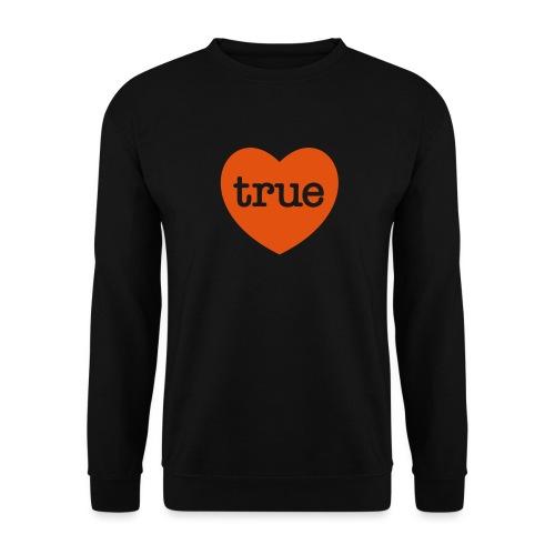 TRUE LOVE Heart - Unisex Sweatshirt